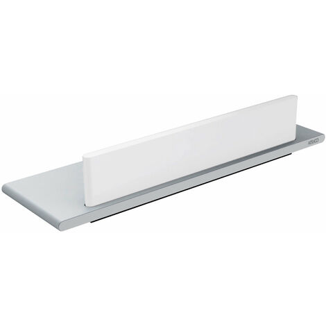 Plato de ducha Keuco Edition 400 11559, con extractor de vidrio, blanco - 11559170000