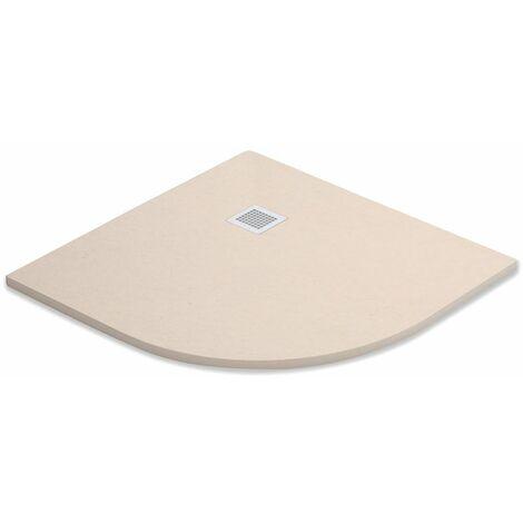 Plato de Ducha Niza Semi Circular | 90 cm - 90 Semicircular (radio 55)