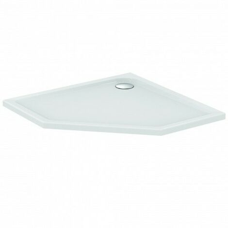 Plato de ducha pentagonal Ideal Standard Connect Air 1000mm E105801 - E105801