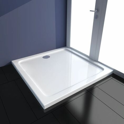 Plato de ducha rectangular ABS 90x90 cm