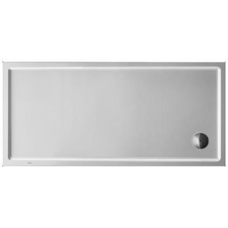 Plato de ducha rectangular Duravit Starck Slimline, 160x75 cm, blanco - 720130000000000