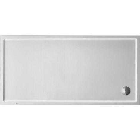Plato de ducha rectangular Duravit Starck Slimline, 180x80 cm, blanco - 720240000000000