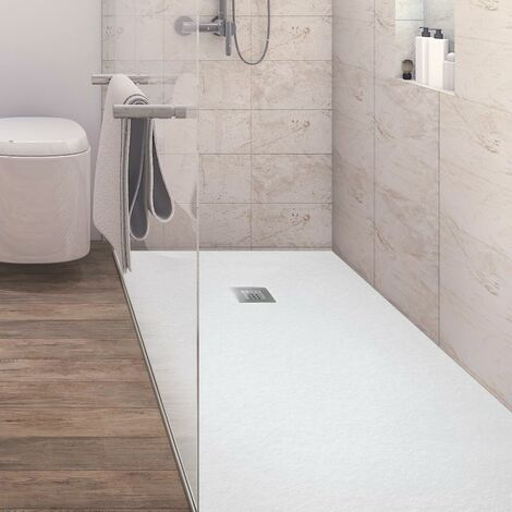 Plato de ducha resina ANDERSON BLANCO 100x220 cm