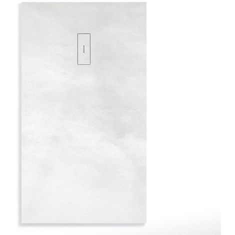 Plato de Ducha Resina CEMENT de NUOVVO® 80 cm de ancho