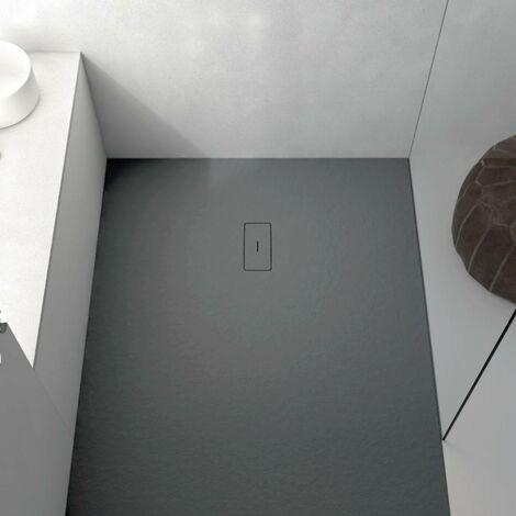 Plato de ducha resina FUSION BLANCO 80x80 cm