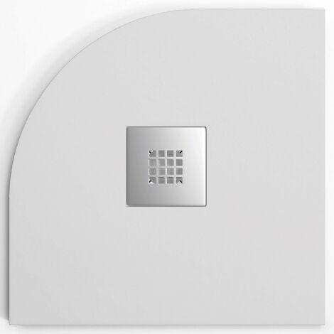 Plato de ducha resina MADISON CURVE de 90 cm de ancho STANO