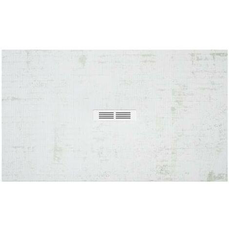 Plato de ducha Roca Helios extraplano de STONEX® 1000x700x25mm Decapado Claro