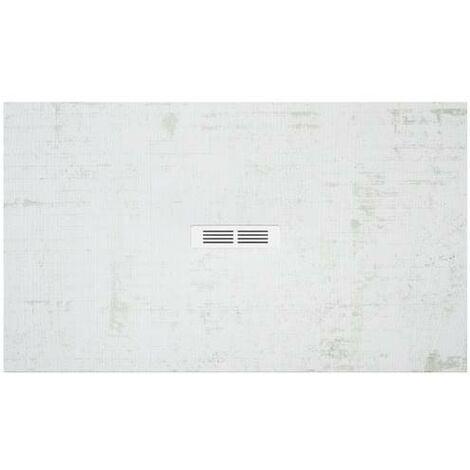 Plato de ducha Roca Helios extraplano de STONEX® 1000x800x25mm Decapado Claro