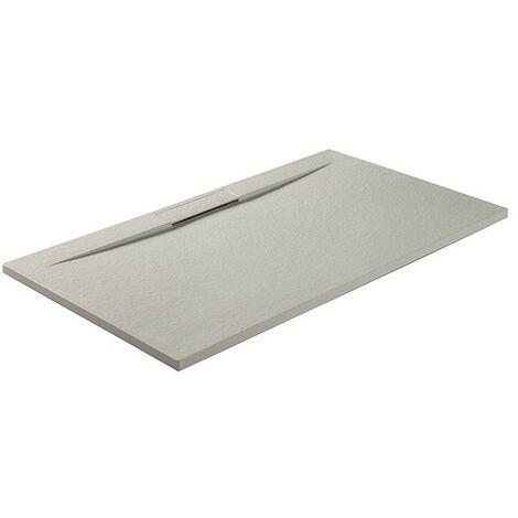 Plato de ducha Side con desagüe oculto Blanco