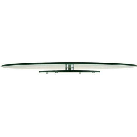 Plato giratorio vidrio 45 cm