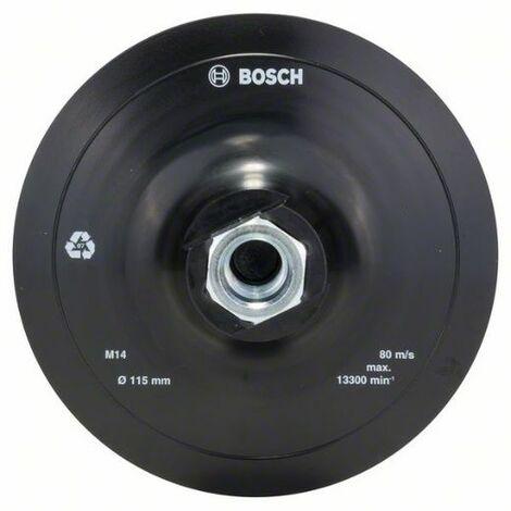 Plato Lija Amoladora: Velcro: 115Mm: Diy - Bosch