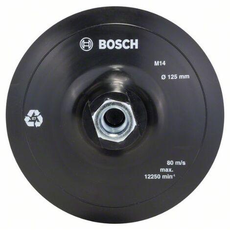 Plato Lija Amoladora: Velcro: 125Mm: Diy - Bosch