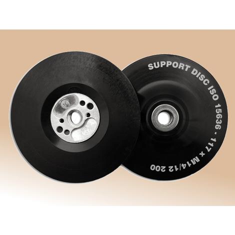 Plato lijador de goma de flexibilidad alta para radial 117 mm Flexipads ULTIMATE