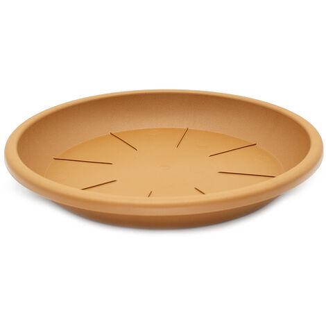 Plato maceta 30 cm Marron