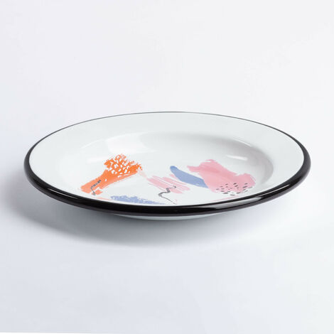 "main image of ""Plato Magik ø24 cm SKLUM Acero - Multicolor"""
