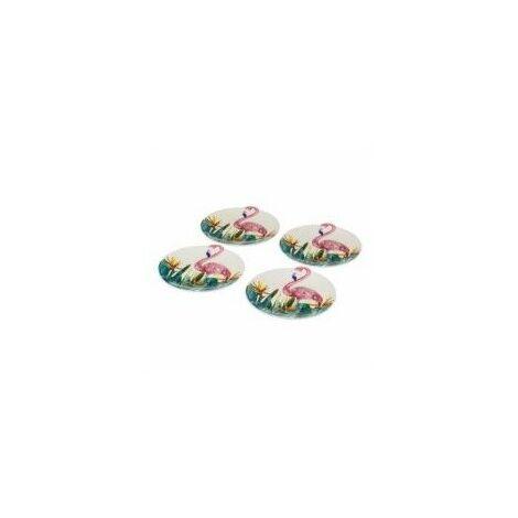 Plato Mesa Llano 24 X 23 X 2,30 Cm Rdo Flamingo Porcel Unim