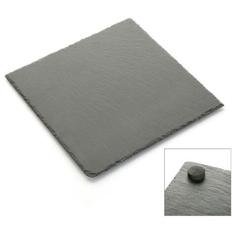 plato pizarra cuadrado m 0,4x25x25