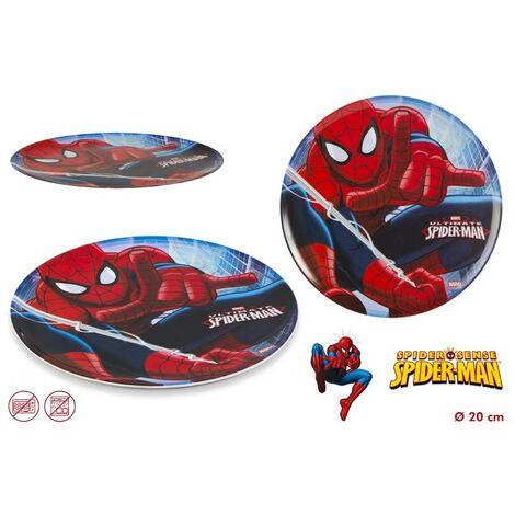 Plato Spiderman de melamina