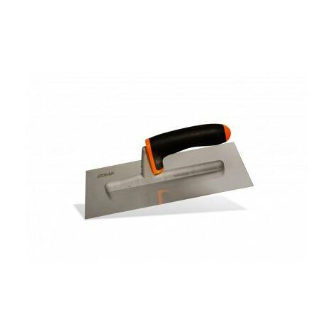 Platoir à enduit lame inox courbée, 280 x 125 mm - EDMA