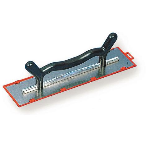 Platoir deux mains lame acier biseautée 50x12 cm - Mob/Mondelin