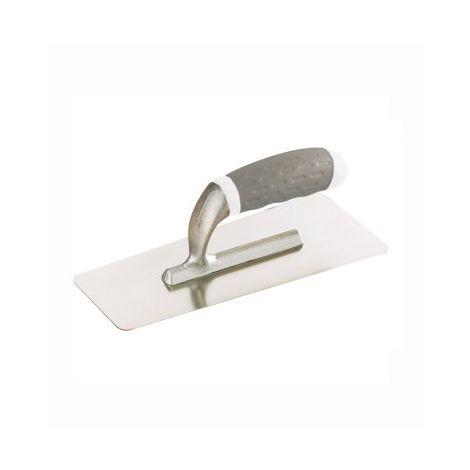 PLATOIR LISSEUSE POLYCARBONATE (PLASTIQUE) pour béton ciré couleur clair et enduit - ARCANE INDUSTRIES - Plastique - 20cmx8cm