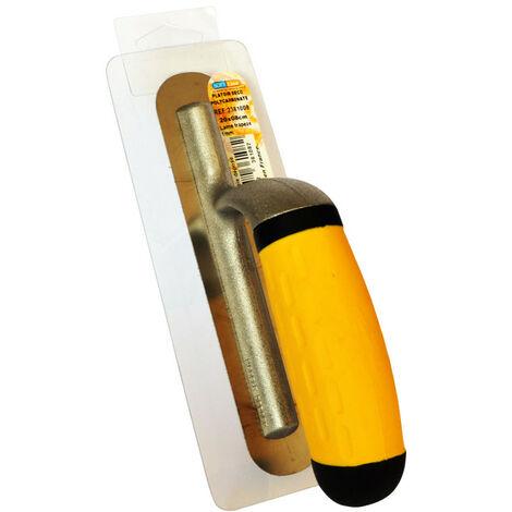 PLATOIR LISSEUSE POLYCARBONATE (PLASTIQUE) pour béton ciré couleur clair et enduit - ARCANE INDUSTRIES - Plastique - 20cmx8cm - Plastique