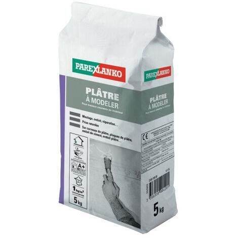 Plâtre à modeler PAREXLANKO - 5kg - 02804