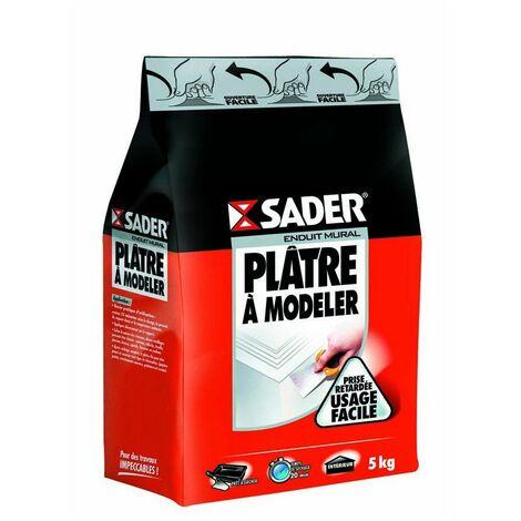 Platre a modeler poudre 1kg sader