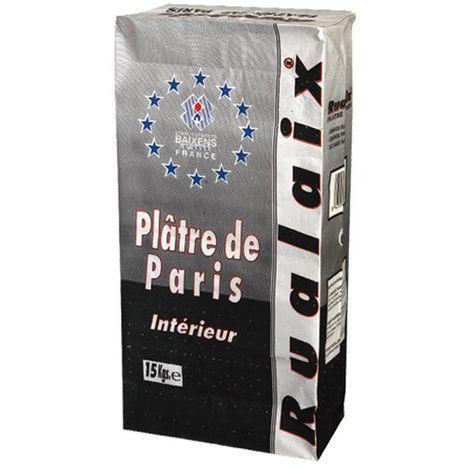 Plâtre de Paris-sac 15 kg-BAIXENS