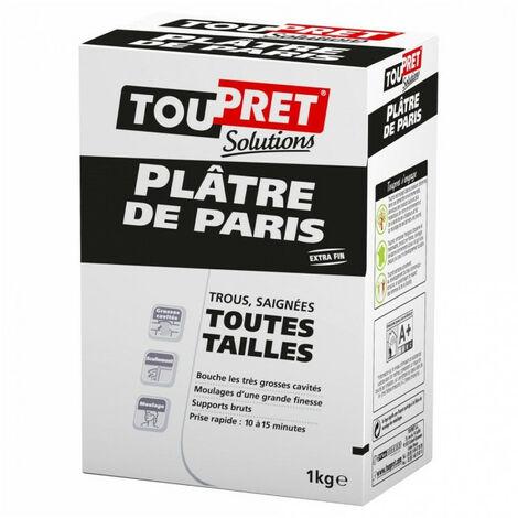 Plâtre de Paris Toupret- plusieurs modèles disponibles