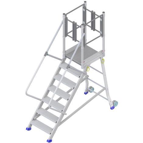 Plattformtreppe mit stirnseitigem Ausstieg (in verschiedenen Größen erhältlich)