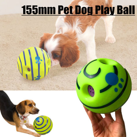 Play Practice Ball 155Mm Cute Animal Dog Chewy Squeaky Ball Squeaky Sound Play Ball Toy Vinyl Phthalate Free