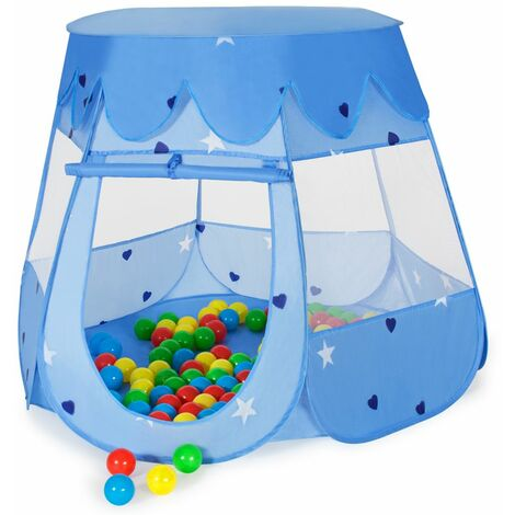 Play tent with 100 balls for kids - kids pop up tent, kids tent, pop up play tent