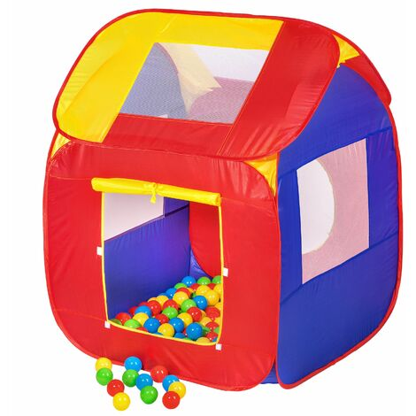 Play tent with 200 balls pop up tent - kids pop up tent, kids tent, pop up play tent - colorful