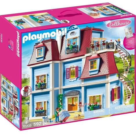 PLAYMOBIL 70205 - Dollhouse La Maison Traditionnelle - Grande maison traditionnelle - Nouveauté 2020