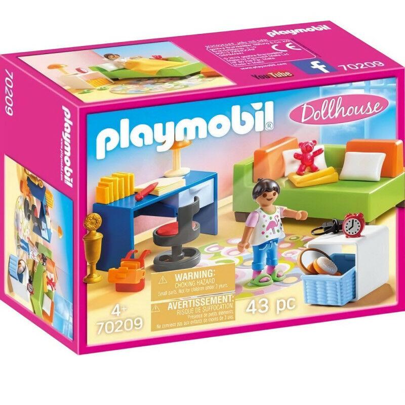 70209 - Chambre d'enfant avec canapé-lit - Playmobil