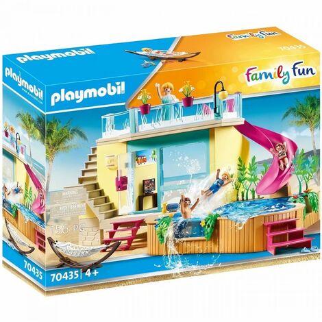 PLAYMOBIL - 70435 - Bungalow avec piscine