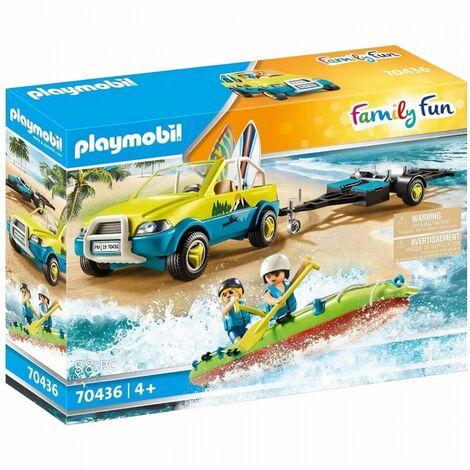PLAYMOBIL - 70436 - Voiture avec canoë