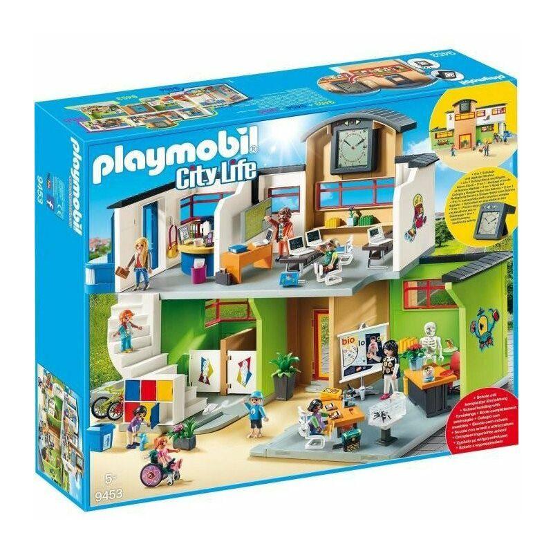 9453 - City Life - Ecole aménagée - Nouveauté 2019 - Playmobil