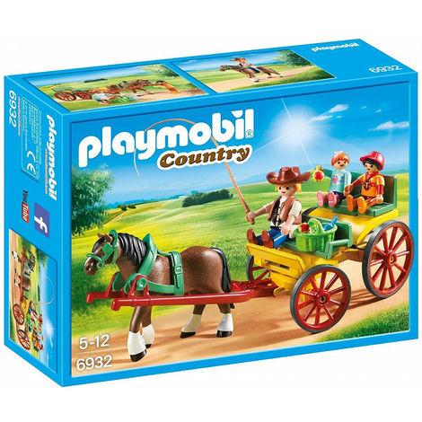 Playmobil calesse c/cavallo 6932 playmob