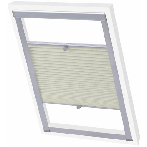 Pleated Blinds Cream S08/608