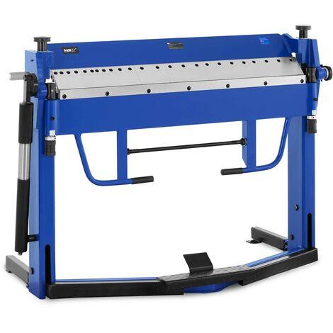 Plegadora De Chapa Manual Máquina Dobladora Para Metal 1270 mm Ángulo 0 - 135°
