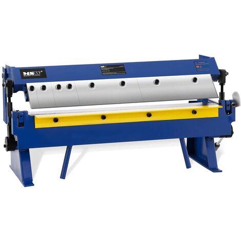 Plegadora De Chapa Manual Máquina Dobladora Para Metal 610 mm Ángulo 0 - 135°