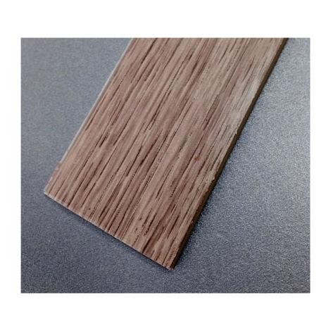 PLETINA PERF 35MMX1MT 1/2C ADH PVC ROBLE BL RUFETE
