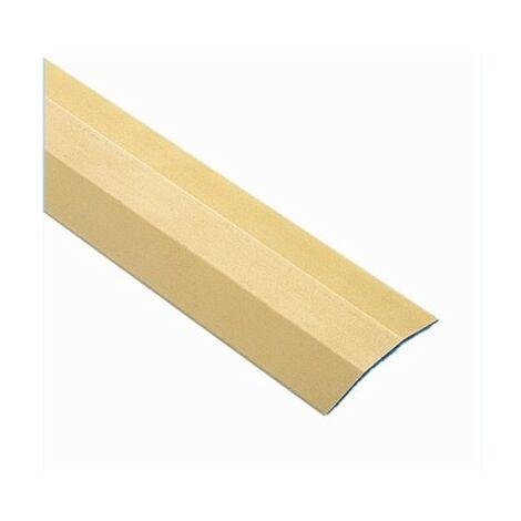 Pletina Perfilada 36Mmx1Mt Nivel Adhesivo Aluminio Oro