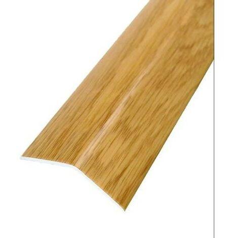 PLETINA PVC 38X15 ROBLE NATURAL ADH. 1. 00 41425B