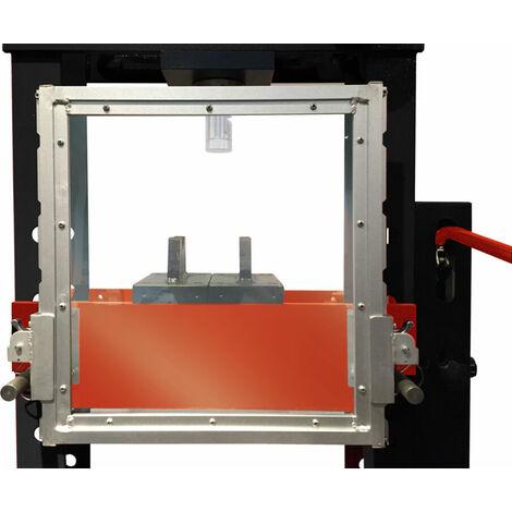 Plexiglas de protection pour presses hydrauliques