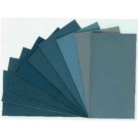 Pliego de lija de tela 153x82 mm. grano 1800 Micro-Mesh