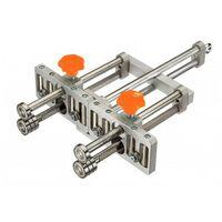 PLIEUSE DOUBLE STANDARD - 8 ROULETTES - Outils pour réaliser des relevés sur tôle de petites et grandes longueurs - EDMA