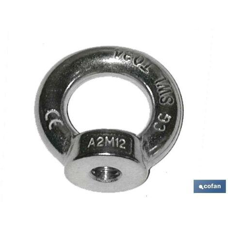 """main image of """"PLIMPO anilla elevación hembra din 582 inox m-8 caja 5 unid."""""""